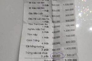 Thực hư vụ chặt chém bát cơm trắng giá 200 nghìn, đậu luộc 300 nghìn ở Nha Trang?