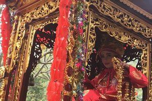 Lễ hội đền Gióng 2019 : 'Nữ tướng 12 tuổi' được bảo vệ nghiêm ngặt