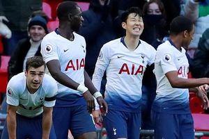 Son Heung Min ghi bàn, Tottenham đả bại Leicester