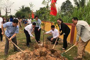 Các địa phương, đơn vị phát động 'Tết trồng cây đời đời nhớ ơn Bác Hồ'