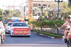 Công an Tiền Giang chủ động tấn công trấn áp tội phạm, đảm bảo ANTT dịp Tết nguyên đán