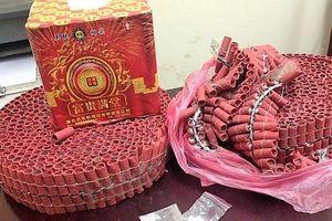 Cảnh sát thu giữ hơn 20 tấn pháo dịp Tết