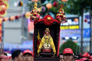 Tỉnh Đông Nam Bộ nào có lễ hội chùa Bà nổi tiếng dịp rằm tháng giêng?