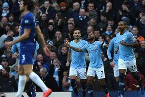 'Vùi dập' Chelsea trên sân Etihad, Man City lại chiếm ngôi đầu