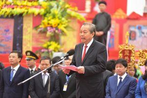 Khai hội Tịch điền Đọi Sơn