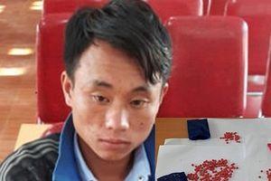 Nghệ An: Bắt một thanh niên người Mông vận chuyển trái phép 438 viên ma túy từ Lào về