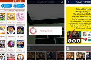 Mã đọc núp bóng ứng dụng làm đẹp trên CH Play