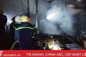 Hà Tĩnh xảy ra 11 vụ cháy trong dịp Tết Nguyên đán Kỷ Hợi