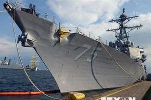 Thượng nghị sỹ Mỹ đề xuất lập siêu hạm đội đối phó Trung Quốc và Nga