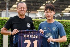 Xuân Trường nhận lương bao nhiêu ở đội bóng Thái Lan?