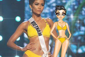 'Lịm tim' với hình vẽ chipi cực yêu của H'Hen Niê và loạt kim Hoa hậu hot nhất lúc này