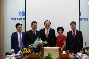 Bộ TN&MT: Công bố quyết định bổ nhiệm Viện trưởng Viện Khoa học Tài nguyên nước