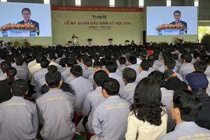 Thaco ra quân sản xuất đầu năm mới