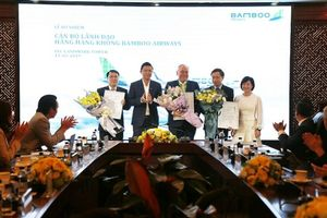 Bamboo Airways bổ nhiệm 3 Phó tổng giám đốc mới