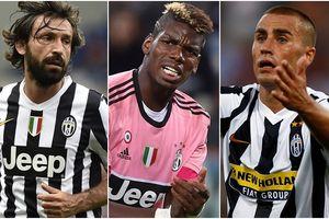 Dàn sao miễn phí khó tin của Juventus khiến đối thủ nào cũng phải ghen tị