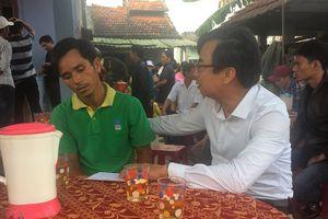 Mặt trận huyện Thăng Bình thăm hỏi, hỗ trợ 6 gia đình học sinh bị đuối nước