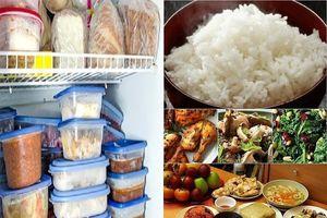 Những dấu hiệu cảnh báo bạn nên vứt thức ăn thừa sau Tết