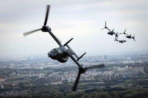 'Chim ưng biển' CV-22 Osprey của Mỹ lần đầu hạ cánh ở Việt Nam