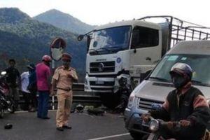 Lượng lượng an ninh hạn chế giao thông gần chùa Phúc Khánh