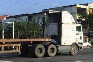 Sẽ công khai số xe, tài xế container, đầu kéo vi phạm vượt đèn đỏ