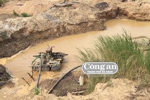 Mỏ cát 'lậu' cày nát bờ Sê San