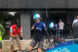Xe đạp: Chris Froome choáng ngợp với sự tiếp đón ở Tour Colombia