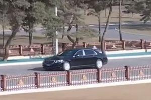 'Soi' Mercedes-Maybach S600 mới của ông Kim Jong Un