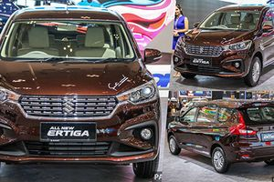 'Soi' Suzuki Ertiga mới giá từ 486 triệu sắp về Việt Nam