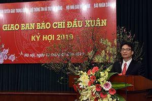 Báo chí cần tập trung phát huy tốt vai trò, khơi dậy được những phẩm chất tốt đẹp của người Việt