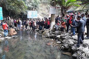 Thanh Hóa: Hội khai hạ suối cá thần Cẩm Lương