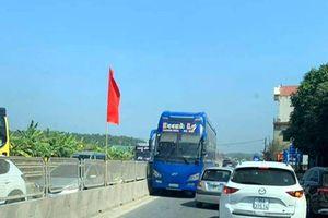 Tước giấy phép lái xe với tài xế đi ngược chiều trên Quốc lộ 1A