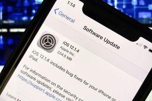iPhone, iPad gặp hàng loạt lỗi nghiêm trọng vì bản nâng cấp iOS 12.1.4