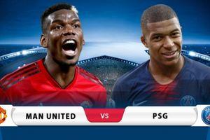 TRỰC TIẾP Man United 0-2 PSG: Chiến thắng xứng đáng (KT)