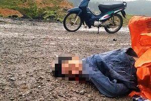 Nghệ An: Phát hiện thi thể nam thanh niên bên cạnh chiếc xe máy