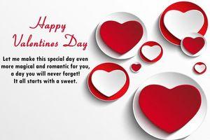 20 lời chúc Valentine cho người yêu ngọt ngào đến 'tan chảy'