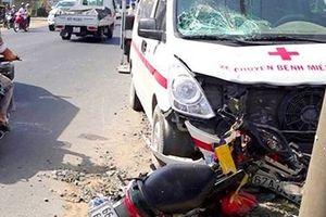 Điều tra vụ tai nạn liên quan đến xe chở bệnh nhân