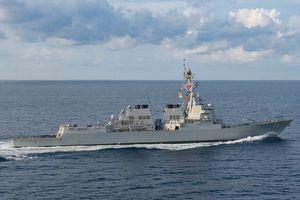 Trung Quốc 'kịch liệt phản đối' Mỹ điều 2 tàu chiến ra Biển Đông