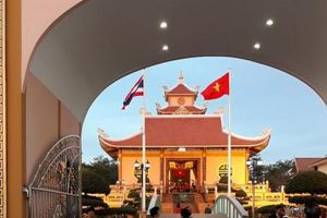Mênh mang tình Bác ở Nakhon Phanom
