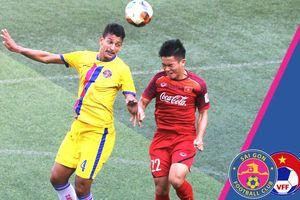 U22 Việt Nam cầm chân Sài Gòn FC trong màn tổng duyệt trước giải U22 Đông Nam Á