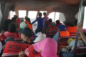 Xử phạt hành chính tàu cao tốc chở vượt số khách quy định
