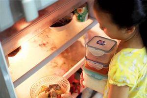 Bảo quản chế biến thức ăn sau Tết