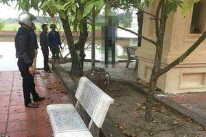 Bàng hoàng phát hiện người đàn ông chết trong tư thế treo cổ tại chùa