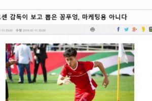 Vì sao Incheon United chiêu mộ Công Phượng thay vì Quang Hải?