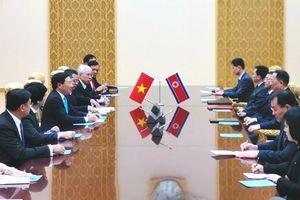 Phó Thủ tướng Phạm Bình Minh hội đàm với Bộ trưởng Ngoại giao Triều Tiên