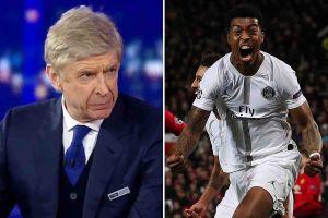 Arsene Wenger giải thích tại sao Man United thua PSG