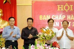 Hà Tĩnh: Trưởng ban Tuyên giáo Tỉnh ủy được bầu làm Phó Bí thư thường trực