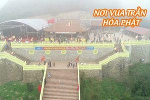 Hàng vạn người hành hương về nơi Trần Nhân Tông hóa Phật