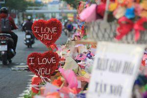 Heo bông, cây trái tim thịnh hành trên phố quà Valentine ở Sài thành