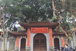 Hà Nội: Chùa Hòe Nhai và bức tượng Phật ngồi lưng vua độc nhất