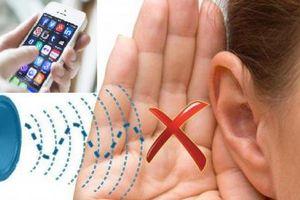 Sử dụng quá nhiều điện thoại thông minh có thể hủy hoại thính giác